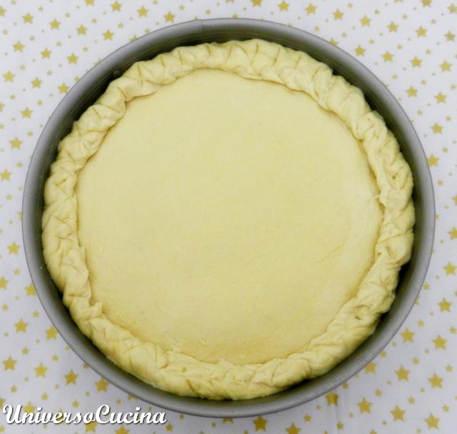 La chiusura della torta