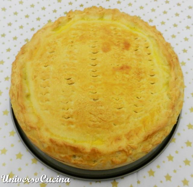La torta appena sfornata
