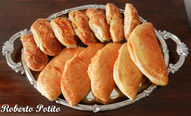 Tranci di pane e cartocciate