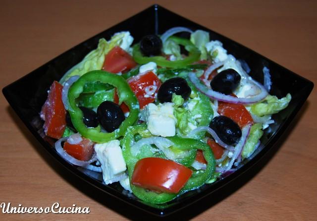 L'insalata in primo piano
