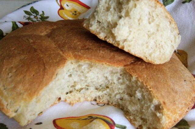 Il pane cotto